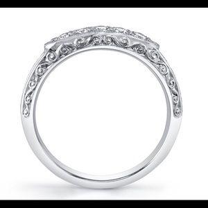 Van craeynest ring diamond band